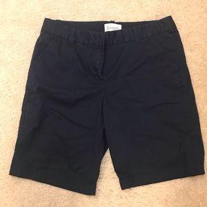 J Crew Bermuda Navy Shorts